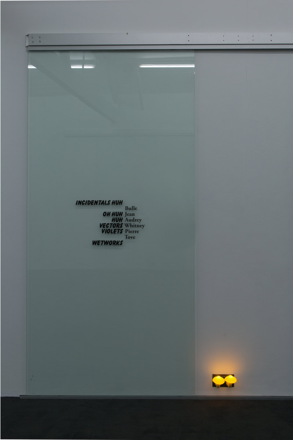 Name, 2016, Ghislaine Leung, Cell Project Space
