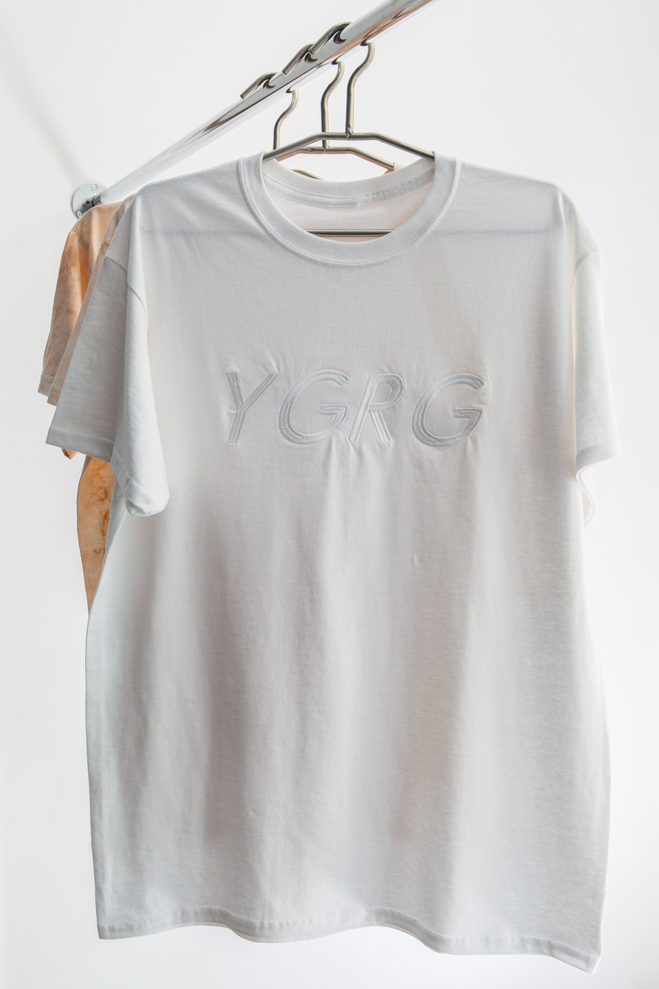 Dorota Gaweda & Egle Kulbokaite, T-shirt, YGRG Outlet, 2018, Cell Project Space