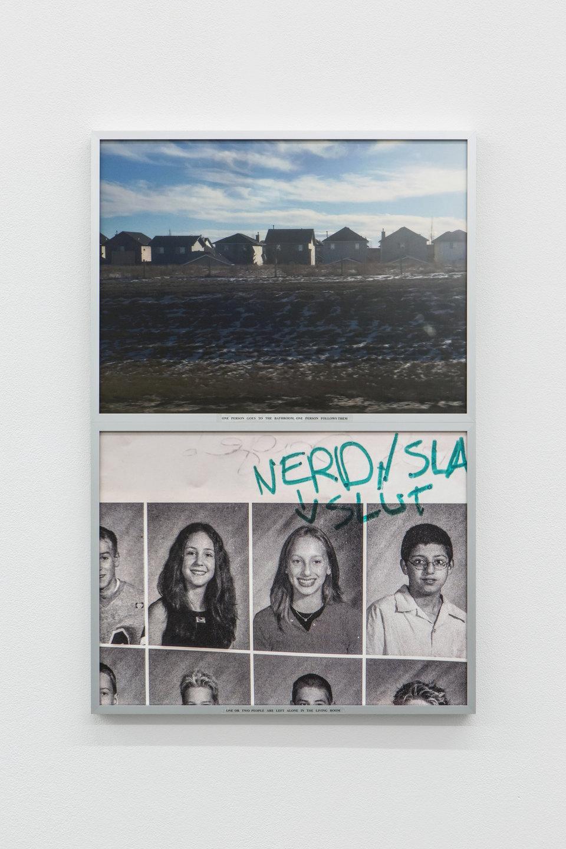 Rosa Aiello, 'Configuration', 2019, Digital print, photo rag paper, acetate film, glue, upholstery fabric, aluminium frames 62.4 x 41.2cm, Cell Project Space