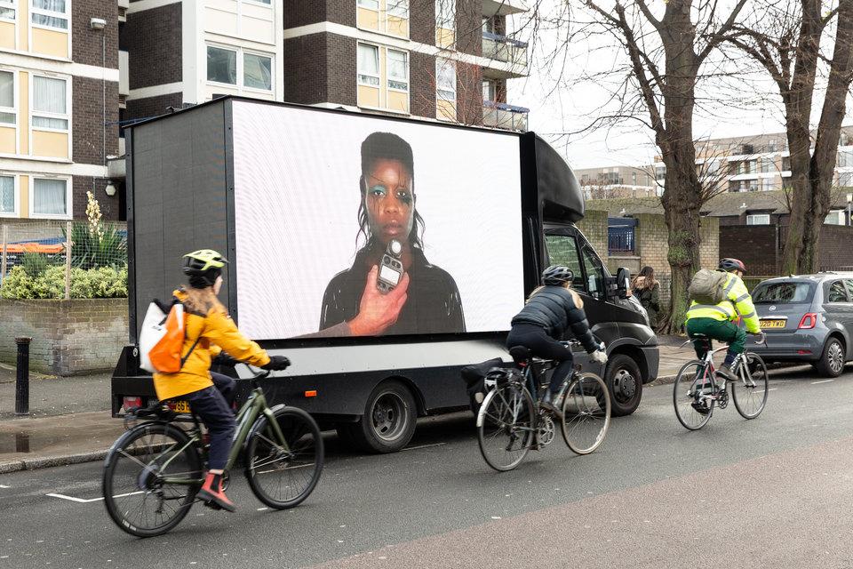 Nevermind (Screen Test 1), 2020, Rose Lipman Building, 43 De Beauvoir Rd, London, N1 5SQ
