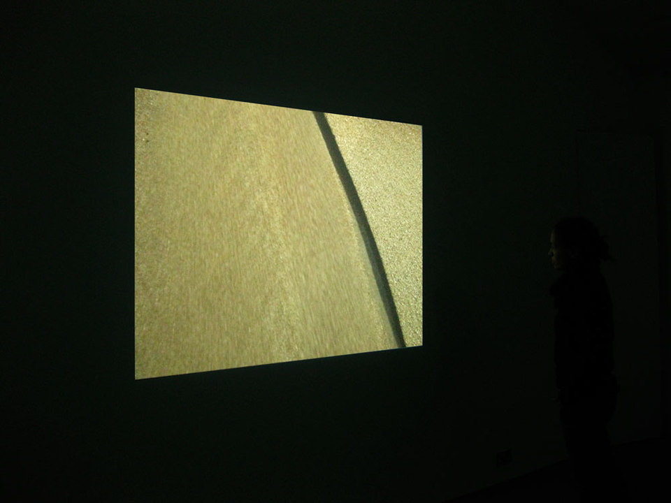 Alex Heim, Installation shot 'Les Chevaux Vapeur', 2009, Digital Video Projection, Duration 07:00 min