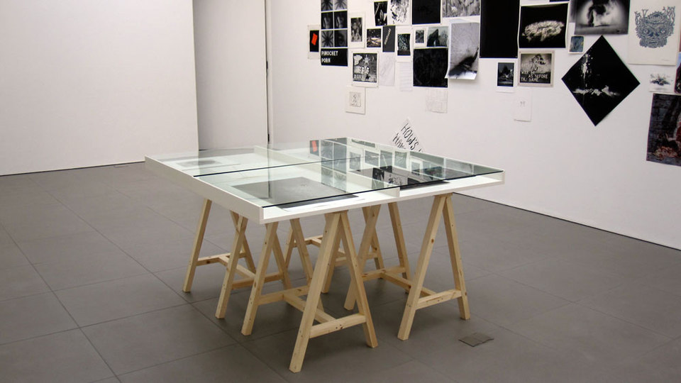 Display Cabinet,  'Alptraum', Cell Project Space, 2011