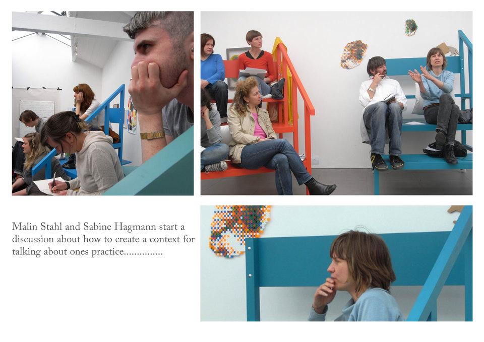 Malin Stahl at ARTSCHOOL/UK