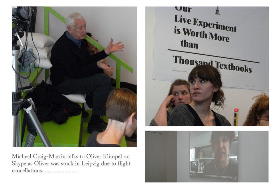 Michael Craig-Martin at ARTSCHOOL/UK