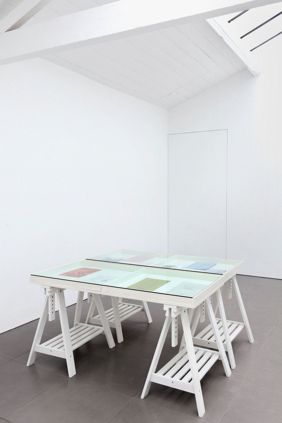 Barbara T Smith, The Poetry Sets, Installation View, 2015, Cell Projects