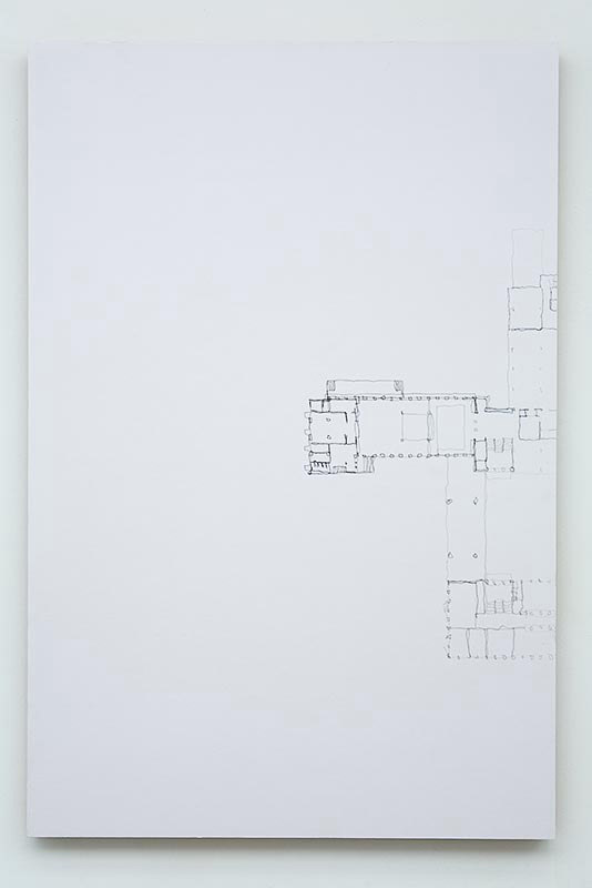 Ben Cove, 'Deteriorating Pantography', 2007,graphite on paper, Practical Mechanics, Cell Project Space