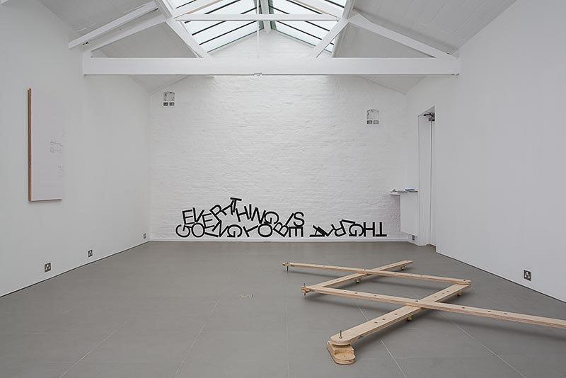 Ben Cove, Practical Mechanics', 2007,vinyl, Cell Project Space