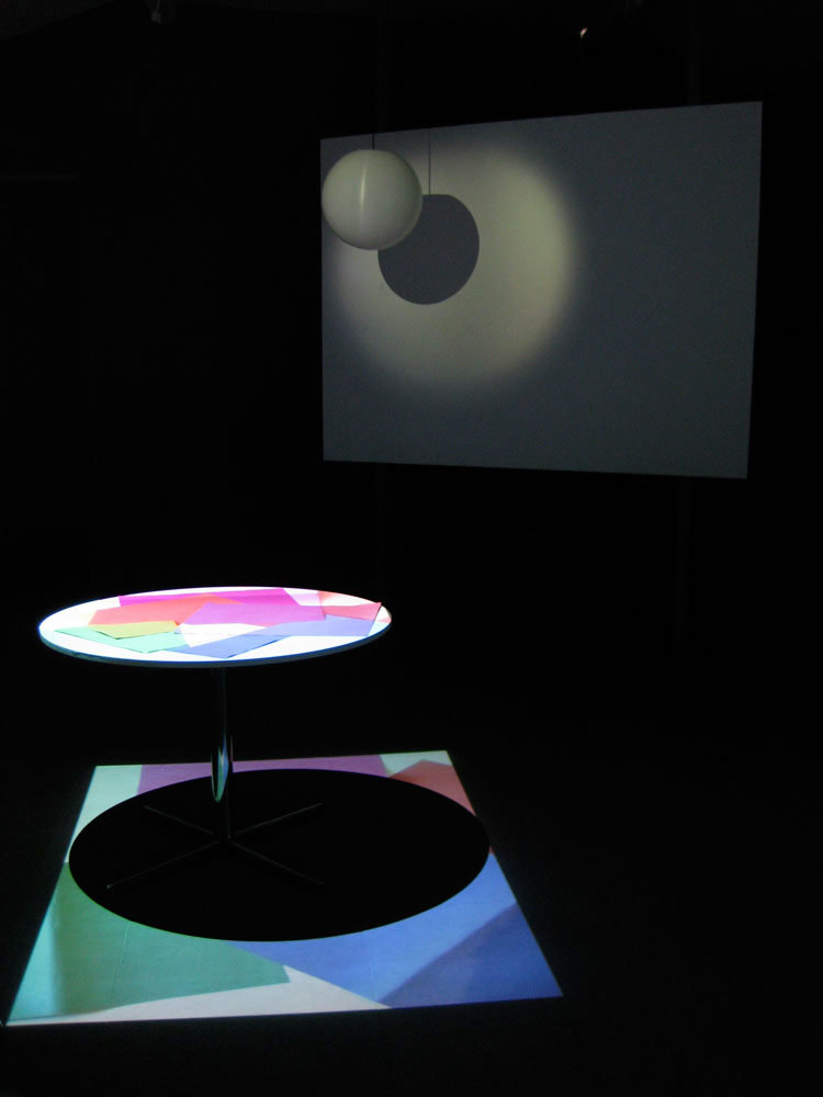Kim Coleman & Jenny Hogarth installation: 'Sugar Paper' and 'Museum Light', 2008