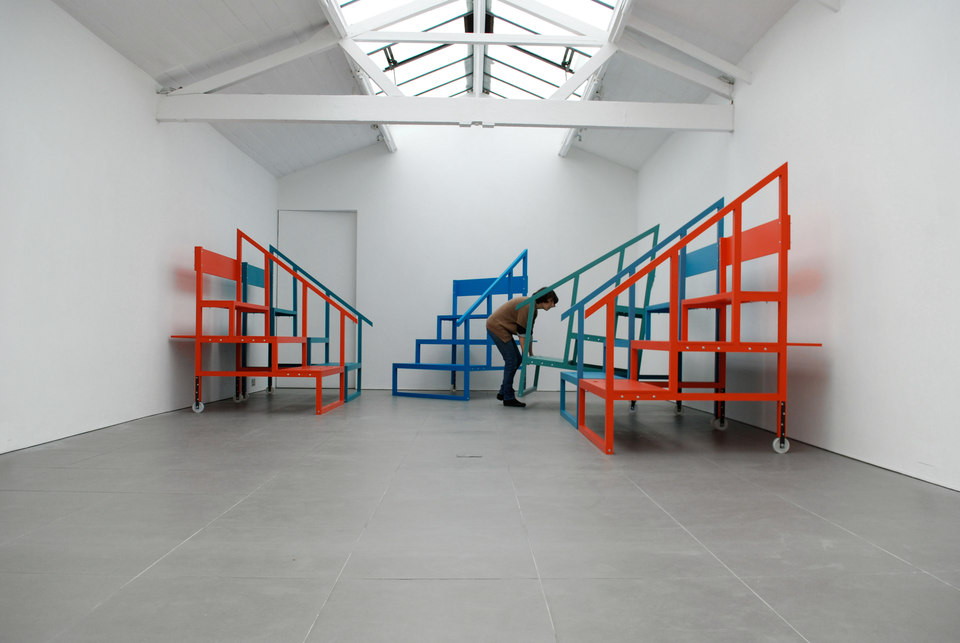 Céline Condorelli, Revision Part II, 2009, installation view, Cell Project Space