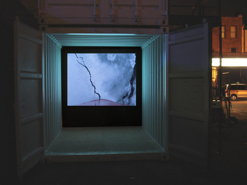Simon Faithfull 'Escape Vehicle no 7', 2005, digital video, duration 7 min