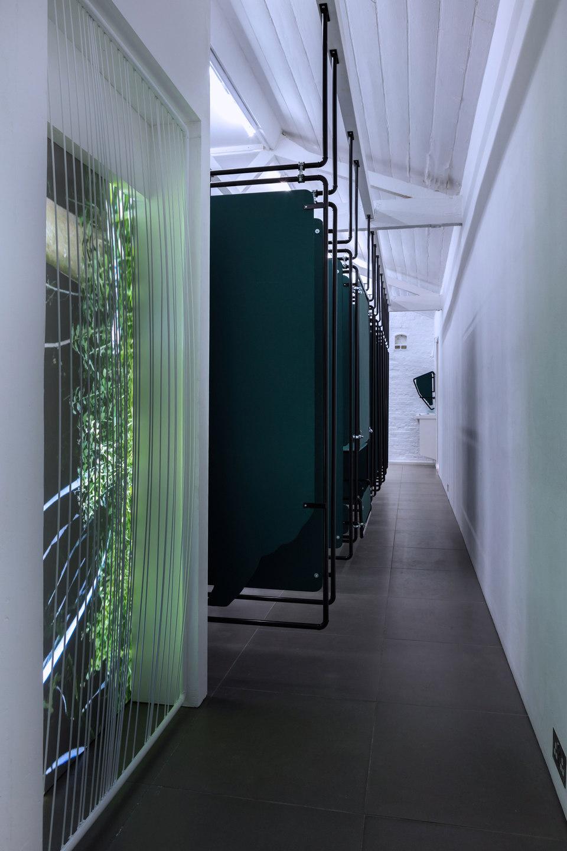 Dan Walwin, Winds 3, 2015 Sculpture, video, Cell Project Space
