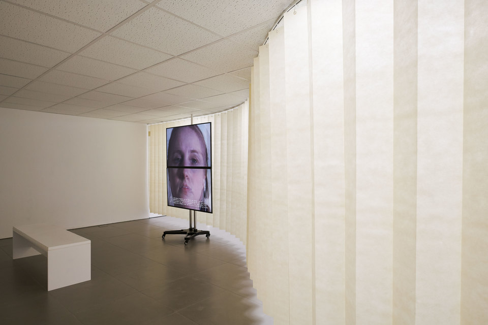 Jos Bitelli, A Partition, installation view, 2016, Cell Project Space