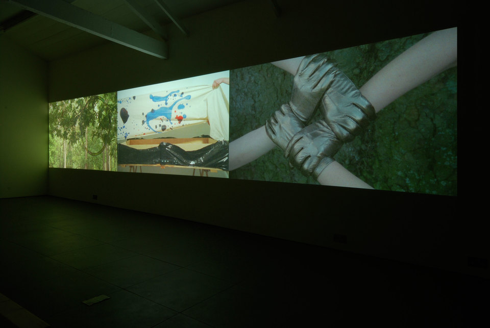 Jessica Warboys, Victory Park Tree Painting, 'Trilogy', 2010-2011, Super 16mm film transfer to digital, Cell Project Space