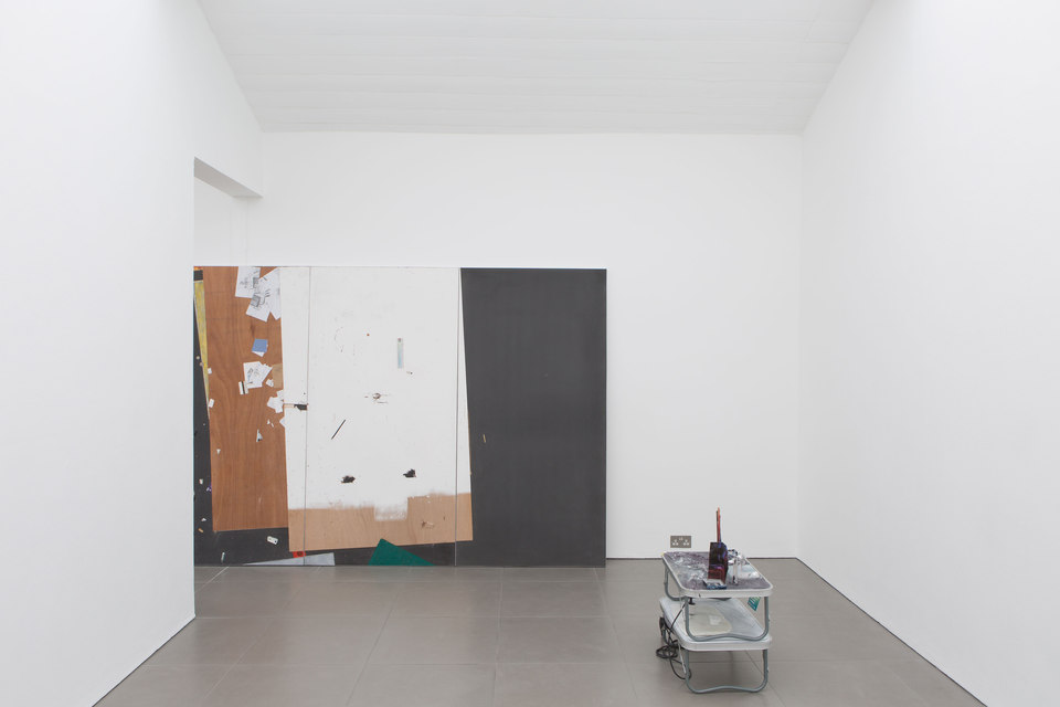 Kate Mackeson & Henrik Potter, 'landlords are not currently collecting rent in self-love', Installation View, 2016, Cell Project Space