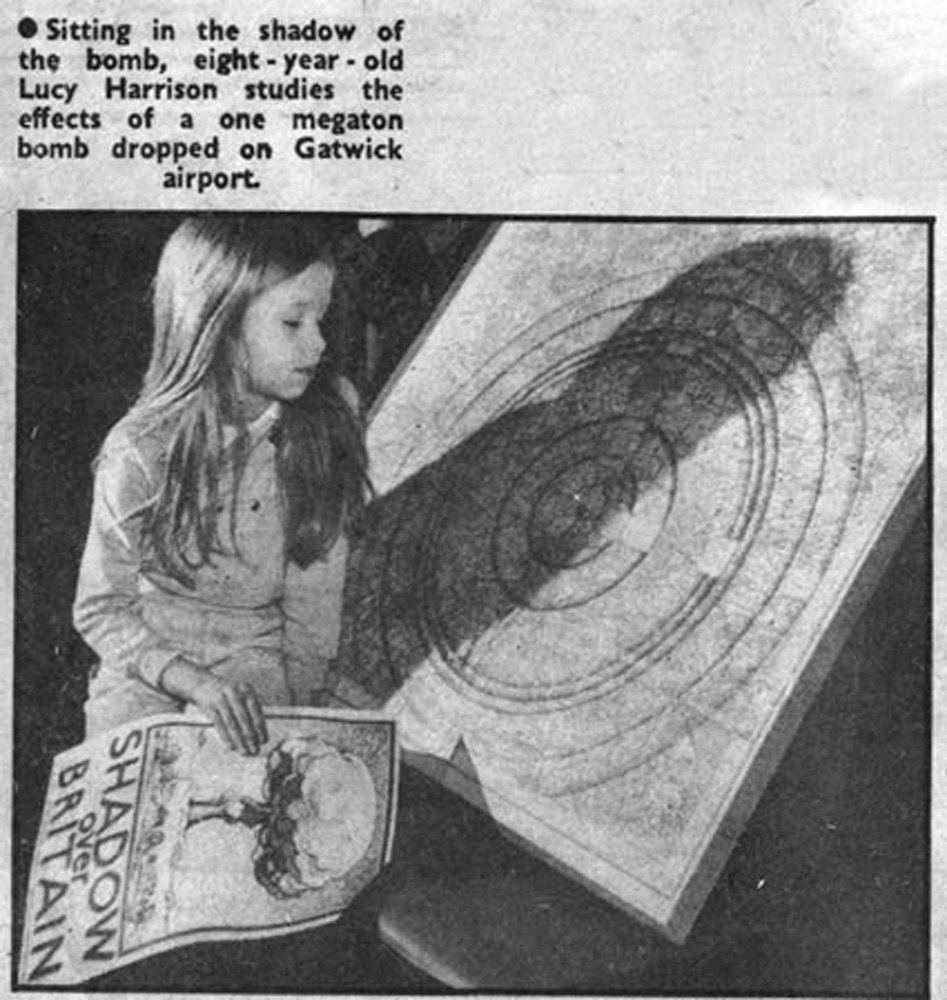 Lucy Harrison 'Untitled; Crawley News clipping from 1982'