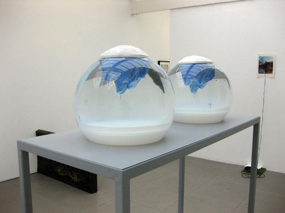 Mariele Neudecker '400 Thousand Generations', 2009, mixed media incl. steel, fibreglass, water, salt, GAC100