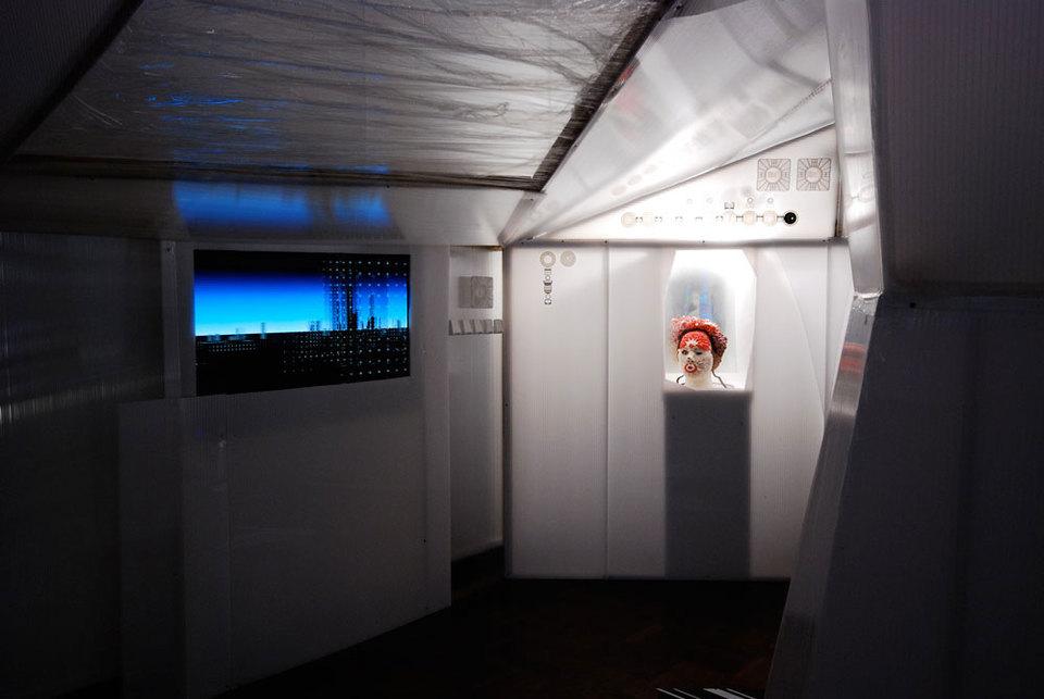 Michael Bell-Smith, Still Image 'Glitterbend' - Jonathan Baldock 'Bells Palsy', 2008