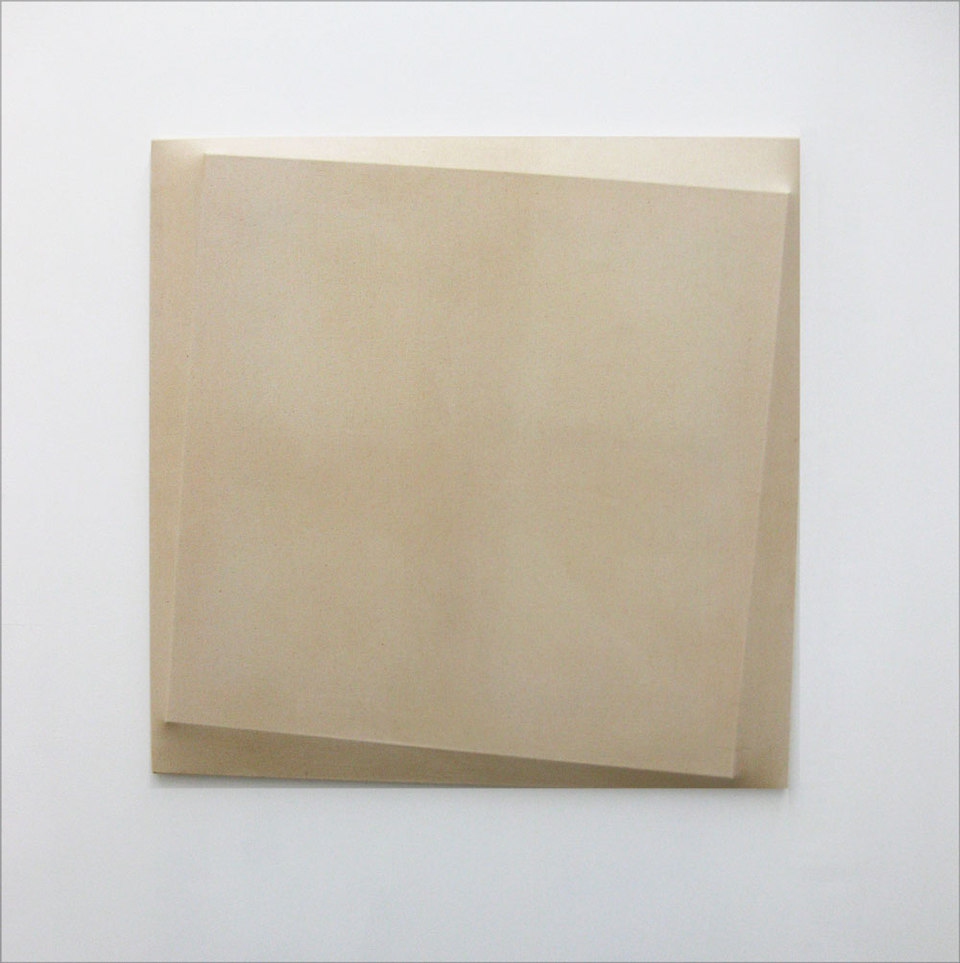 Oliver Perkins, Untitled/ Implant/ WH SQ, 2009, Acrylic, canvas, (h.80cm x w.80cm x d.4.5cm)