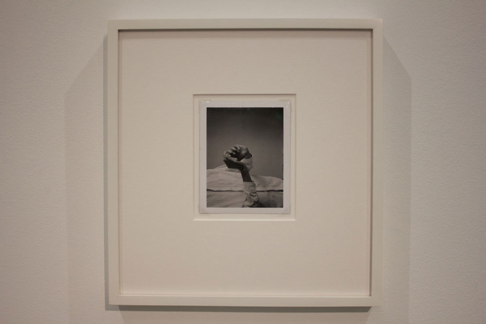 Richard Bevan, RF#4, 2011, Framed Polaroid 27 x 25.5cm