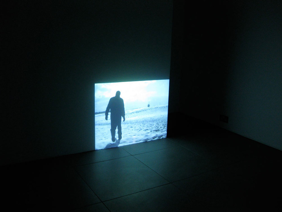 Simon Faithfull, Still Image 'Going Nowhere', 1996, Duration 07:00 min, Loop Digital Video
