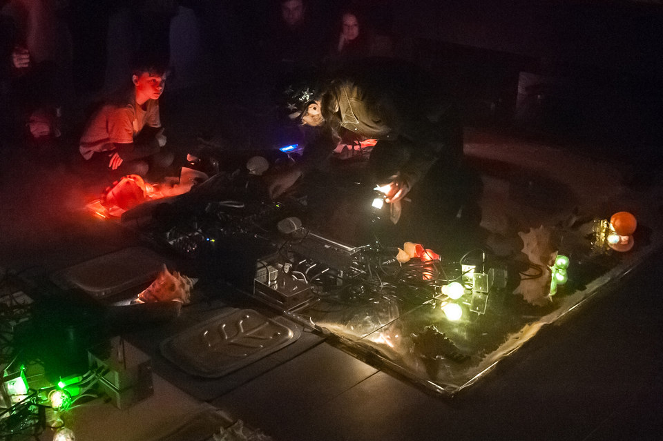 MSHR, Ceremonial Chamber, 2014, installation and performance, Cell Project Space